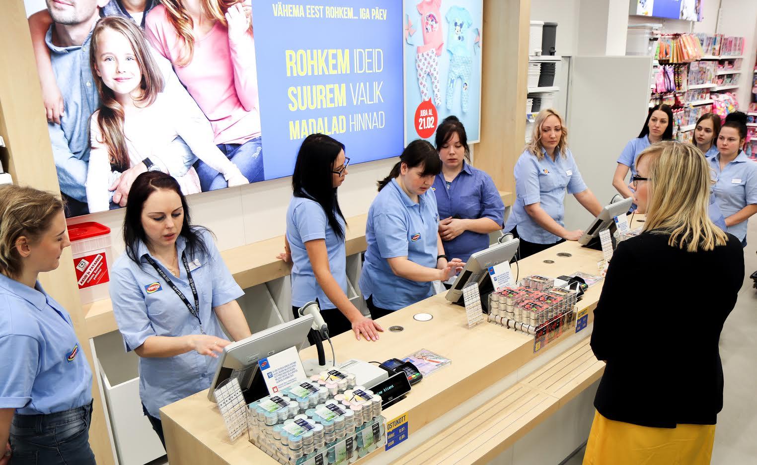 367642b2fcc Pepco kaupluse avamishommikul oli esimestel ostjatel kaup kotis juba kümme  minutit pärast poe avamist. Foto