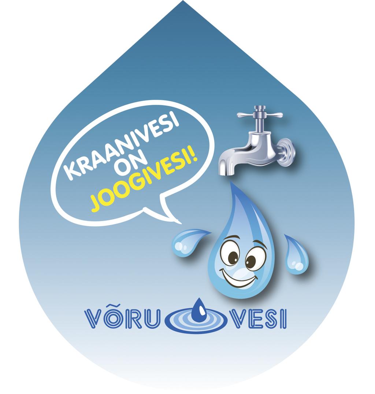 4a3c1618b72 AS Võru Vesi korraldas joonistusvõistluse teemal Miks on kraanivesi hea?